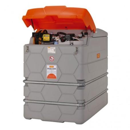 Station service gasoil Cube Outdoor Premium 2500 l