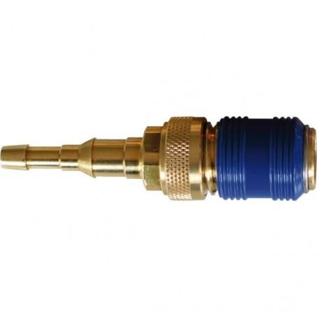 Raccord rapide gaz pour tuyau