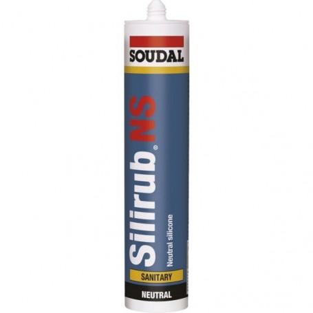 Mastic silicone sanitaire Silirub NS