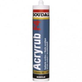 Mastic acrylique Acryrub F4 300 ML - 3 Couleurs