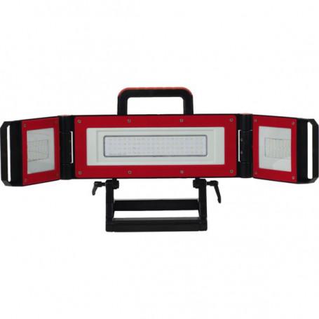 Projecteur portable de chantier LED multipositions