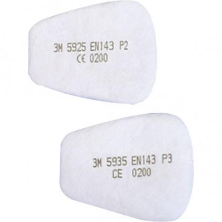 Filtre antipoussières pour utilisation avec ou sans les filtres antigaz pour 6500-6800