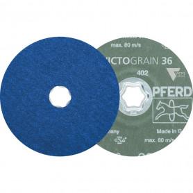 Disques fibre COMBICLICK CC-FS 125 VICTOGRAIN-COOL 36