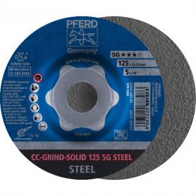 Disques abrasifs CC-GRIND® CC-GRIND-SOLID 125 SG STEEL