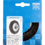 Brosses coniques à filetage, non torsadées POS KBU 10010/M14 INOX 0,35