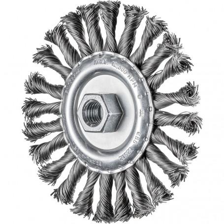 Brosses plates, torsadées POS RBG 12512/M14 CT ST 0,50
