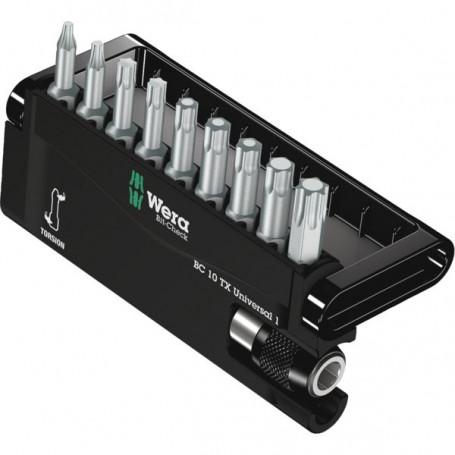 Embout de vissage Torx® Bit-Check 10 TX Universal 1 coffret de 10