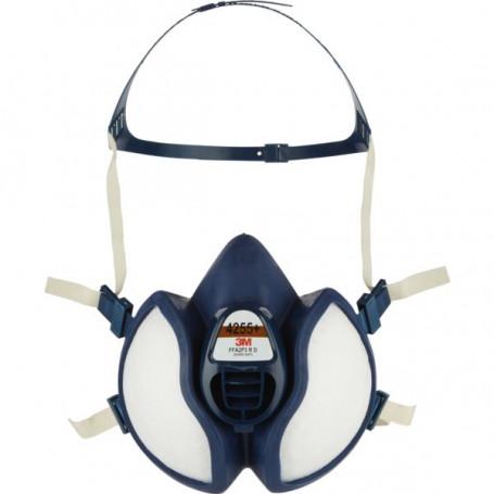 Demi-masque antigaz et antipoussière Série 4000+