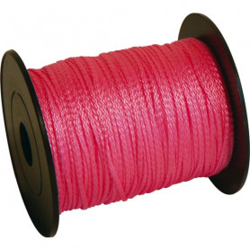 Tresse fluo rose fil