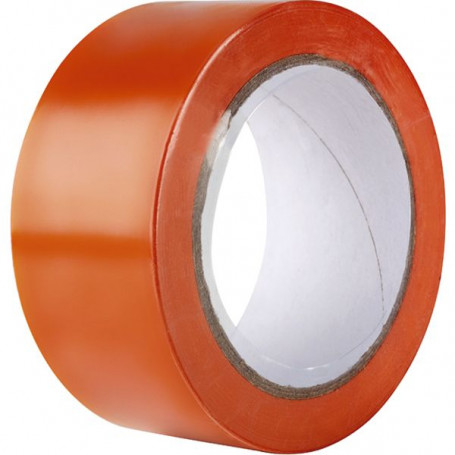 Ruban adhésif PVC orange éco