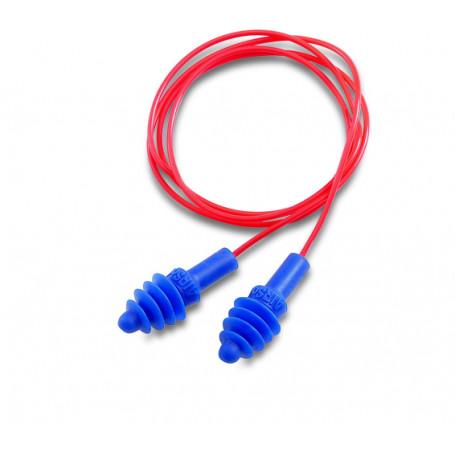 Bouchon AIRSOFT Corde  Rouge PVC