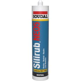 Mastic silicone Silirub NEO5 300 ML - 7 COULEURS