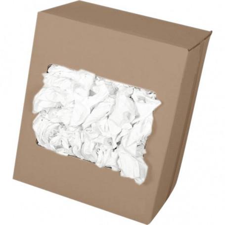 Chiffon extra-fin blanc