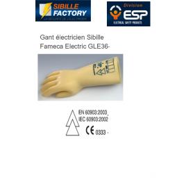 GANT ELECTRICIEN CL00 - 500 VOLTS