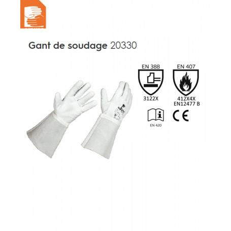 GANT SOUDEUR TIG TT FLEUR