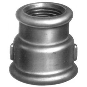 240R - Manchon réduit femelle (filetage BSP) Finition galvanisée