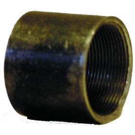 2701 - Manchon en acier élaboré à partir du tube soudé, longueur usuelle (filetage cylindrique) Finition noire