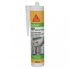 SIKASEAL 107 JOINT ET FISSURE- 300ML - 2 COULEURS